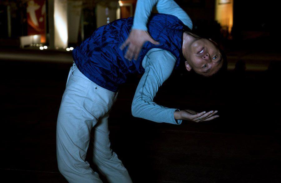 Naishi Wang / 15 X LA NUIT / Fortier Danse-Création / © Xavier Curnillon
