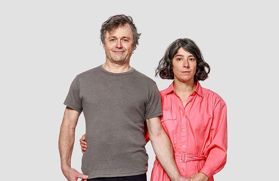 Sonia Gomez +Marc Béland / Bailarinas / © Stéphane Najman