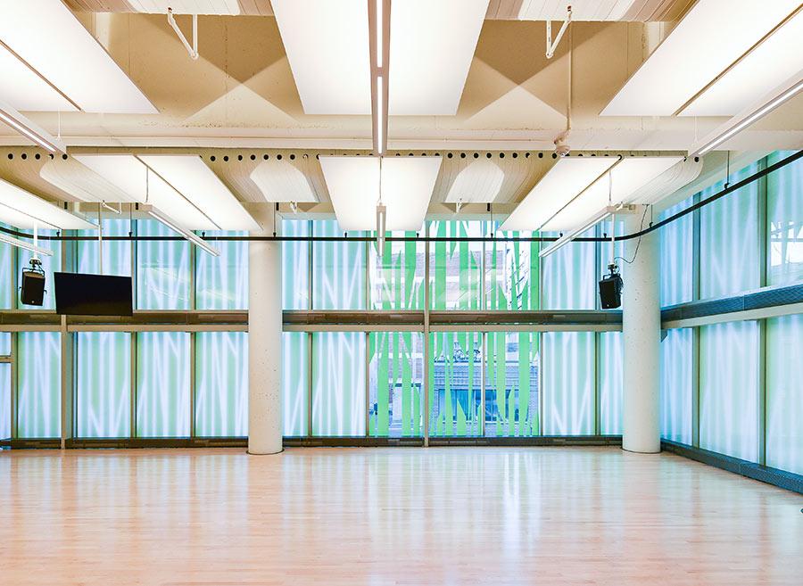 Studio de répétition Agora de la danse