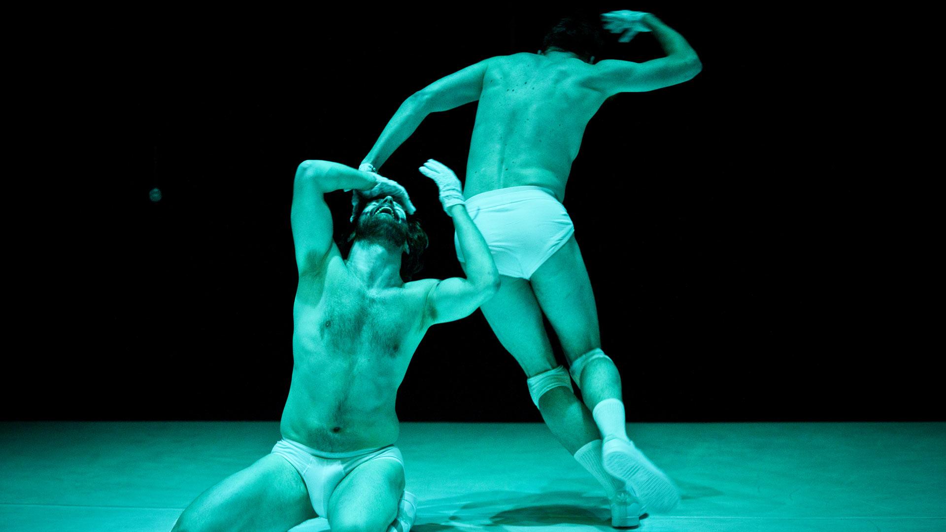 Danse Mutante | Mayday | Francis Ducharme, Riley Sims © Mathieu Doyon @ Agora de la danse, Montreal.