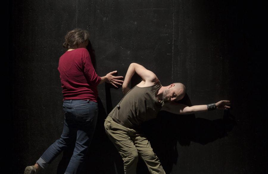 Les appuis imaginés |Jean-Sébastien Lourdais | Fabrication danse © Jean-François Bienvenue