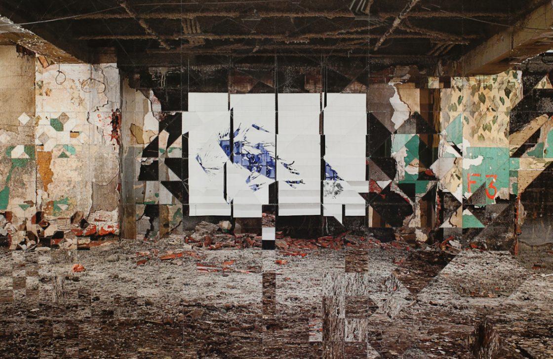 Tout est un mouvement géant ; Christophe Jordache (sous-sol Belgo)