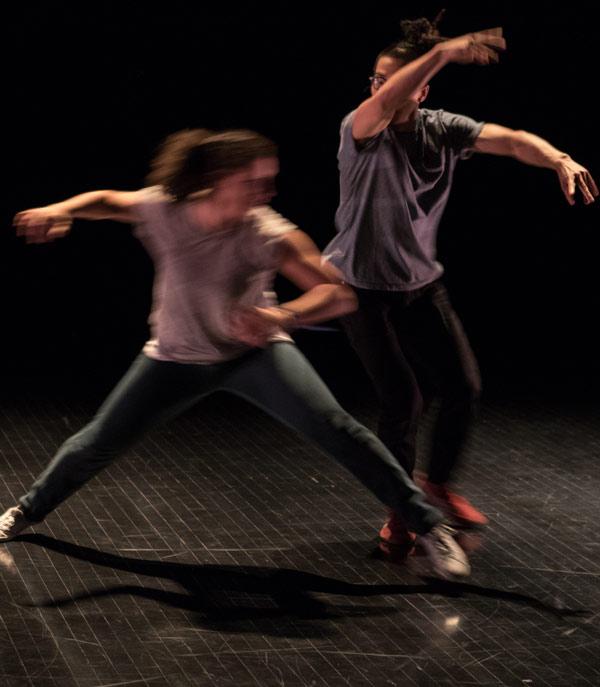 Spectacle chorégraphique / Département de danse l'UQAM